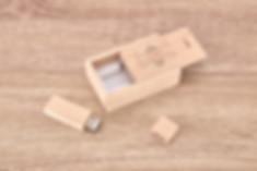 USB scatola in legno personalizzata