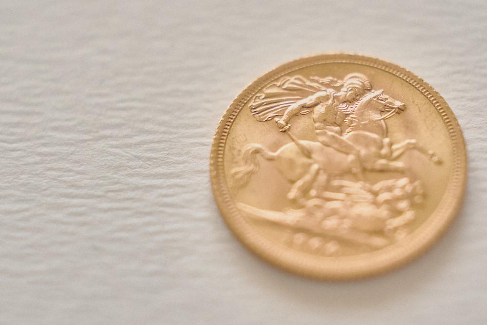 gold pound, sterlina d'oro, money, gold