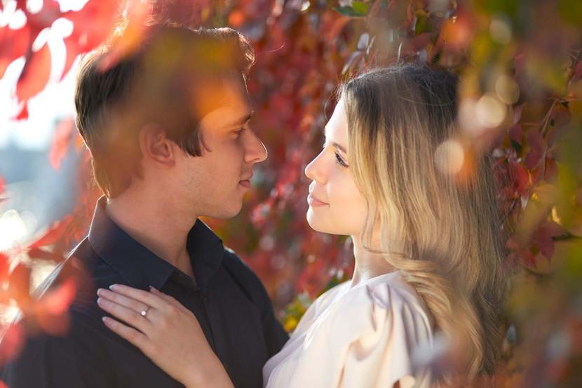 Fidanzamento servizio fotografico prima delle nozze fotografo