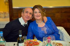 invitati al tavolo degli sposi, fotografo matrimonio Novara,