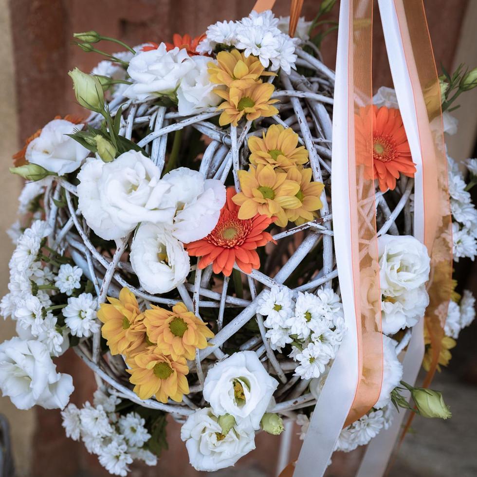 Addobbi floreali per il matrimonio