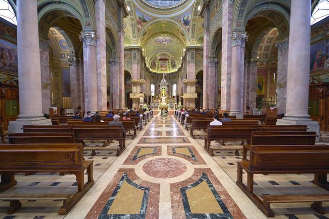 basilica San Martino Magenta, fotografo matrimonio Novara,