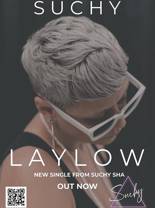 Suchy 'Laylow' Poster