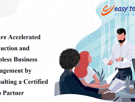 Ensure Accelerated Production & Seamless Business Management by Consulting a Certified Zoho Partner