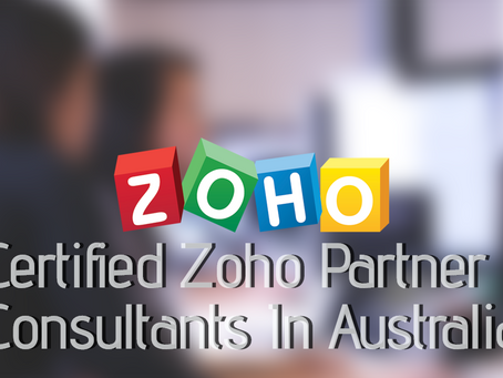 Seek the best business solutions from Certified Zoho Partner Consultants In Australia