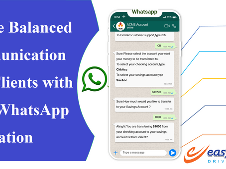 Ensure balanced communication with clients with Zoho WhatsApp Integration