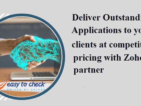 Deliver outstanding applications to your clients at competitive pricing with Zoho partner