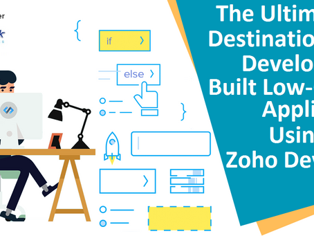 Zoho Developer: The ultimate destination for developers to built low-cost applications
