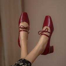 Chiko Fotina Square Toe Block Heels Pump