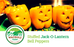 Halloween Recipes - Stuffed Jack-O-Lantern Bell Peppers