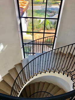 Staircase to Upstairs Sleeping Rooms