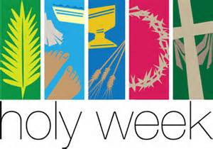 Readings and Prayers for Holy Week