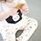 Thumbnail: Black Hoodie w/ Milk & Cookies Pants Set
