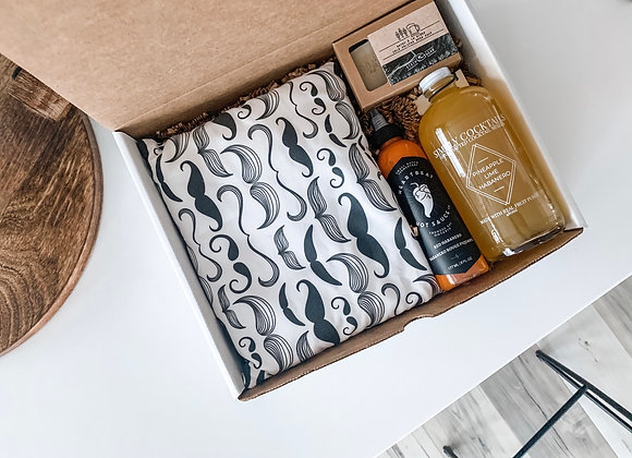 Valentines Day Box for Men : Indulge & Relax