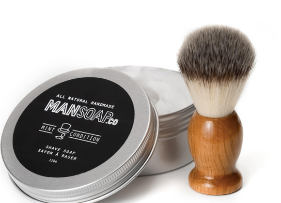 Shave Soap + Brush