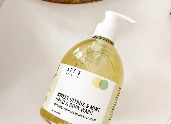 Sweet Citrus & Mint Hand & Body Wash