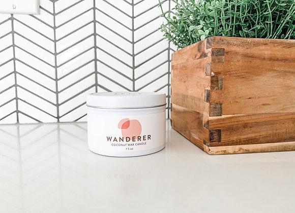 """Wanderer"" Candle : Rose, Vanilla & Cedarwood"