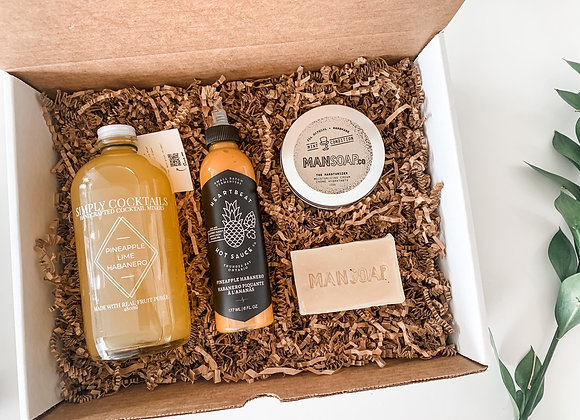 Valentines Day Box for Men : NO sweets box