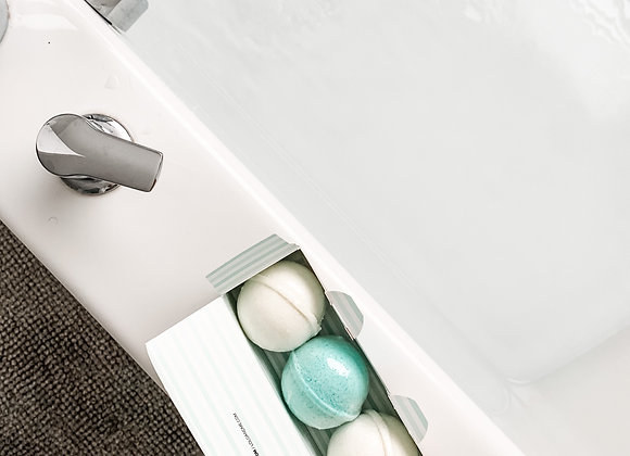 Olive Oil Bath Bombs