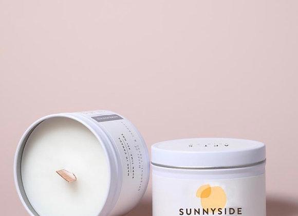 """""""Sunnyside"""" Candle : Apricot + Honey"""