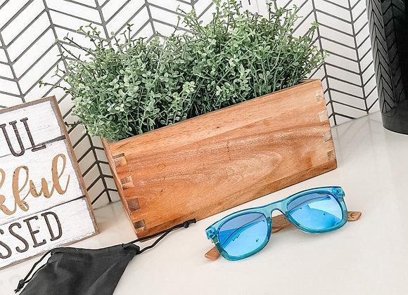 Blue Kids Polarized Sunglasses