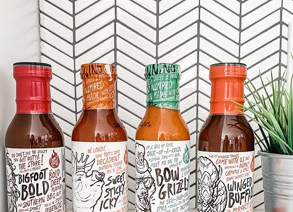 SAMPLER PACK : BBQ Sauce