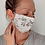 Thumbnail: Adult or Kids Face Mask - B & W Floral
