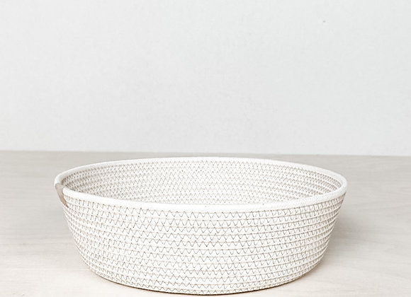 Cotton Rope Bowl - Taupe