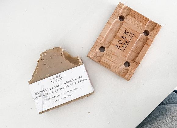 Soap Bar + Soap Tray