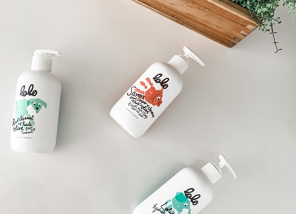 Olive Oil  Hair & Body Wash + Conditioner + Lotion