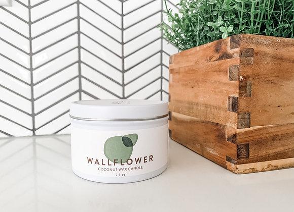 """""""Wallflower"""" Candle : Lemongrass, White Ginger, Lime & Amber"""