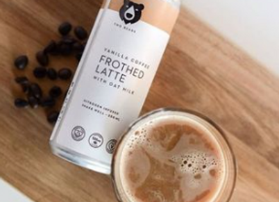 Frothed Vanilla Oat Milk Latte