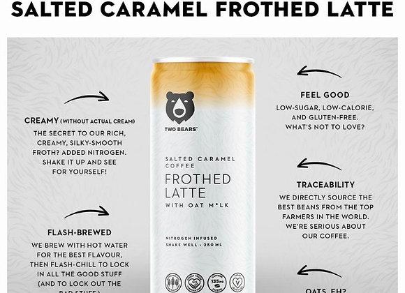 Salted Caramel Oat Milk Latte