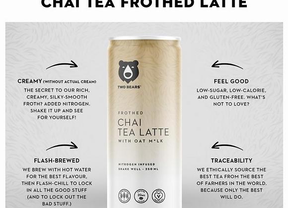 Frothed Chai Tea Oat Milk Latte - 6pk