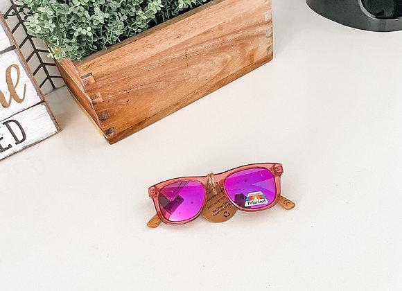 Pink Kids Polarized Sunglasses