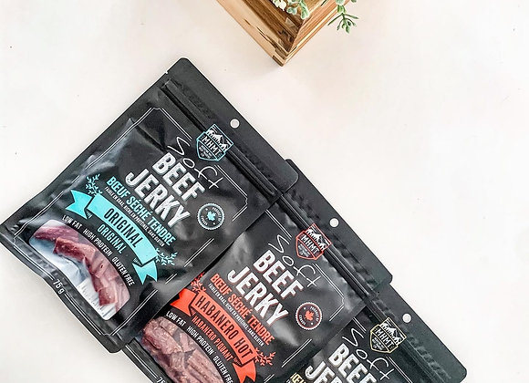 SAMPLE PACK: Soft Beef Jerky