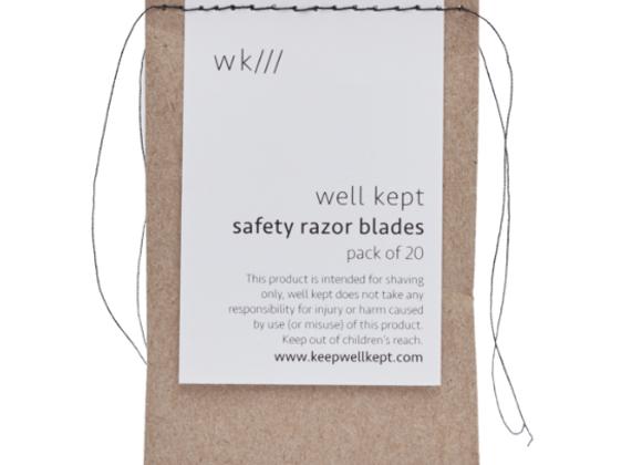 REFILL: Safety Razor Blades