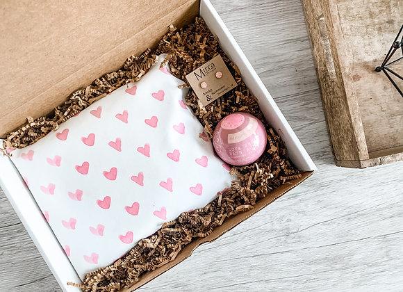 Kids Valentines Day Box : Girl