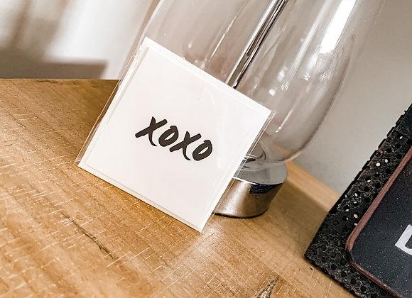 Special Occassion Mini Card : XoXo