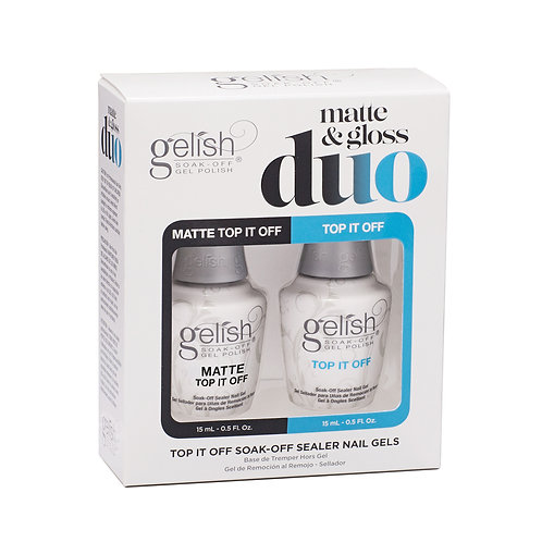 Matte And Gloss Duo - Top It Off Sealer Gels