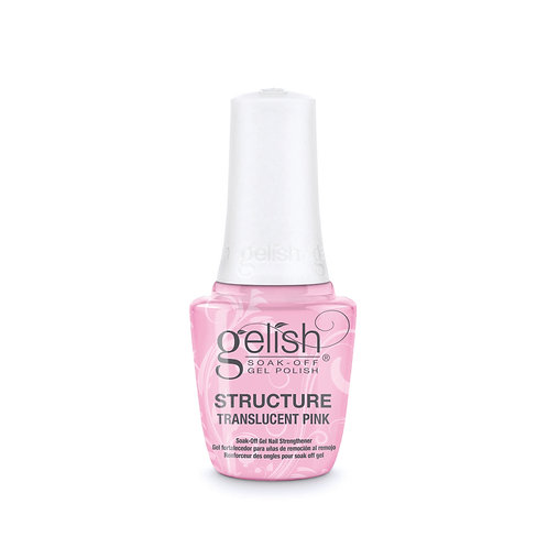 STRUCTURE TRANSLUCENT PINK Soak-Off Nail Strengthener
