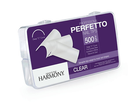 Perfetto Nail Tips - Clear