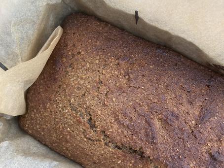 Fibre-rich Gluten-free Banana Bread