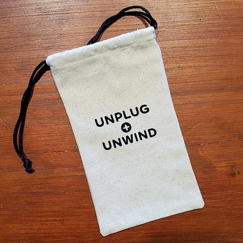 Cell Phone Sleeping Bag - Unplug + Unwind