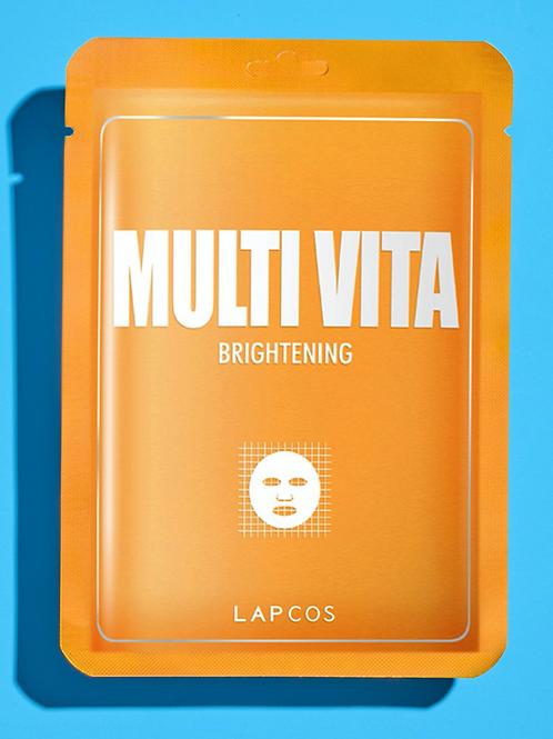 Lapcos Facial Mask Multivitamin