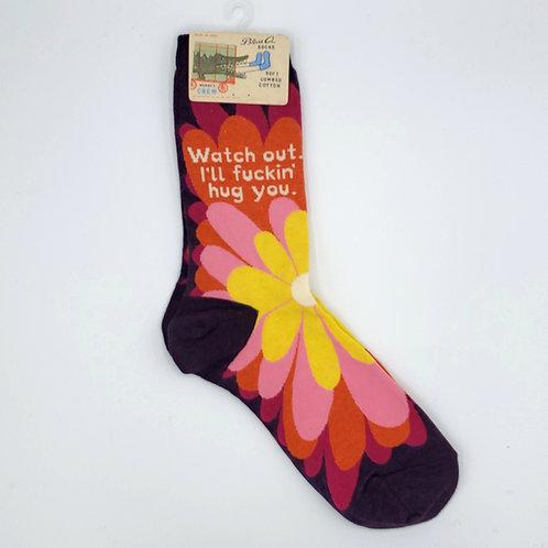 Eff-ing Hug You Women's Socks
