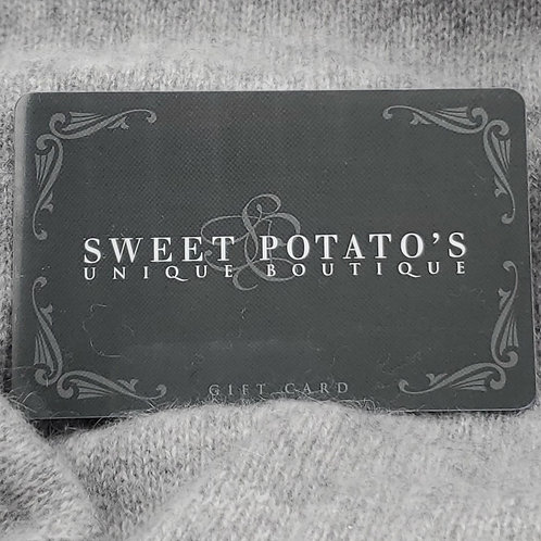 Sweet Potato's Gift Card - $50