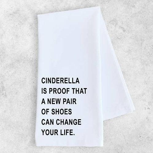Tea Towel Some Cinderella