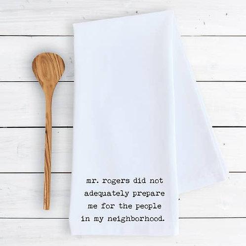 Tea Towel Mr. Rogers