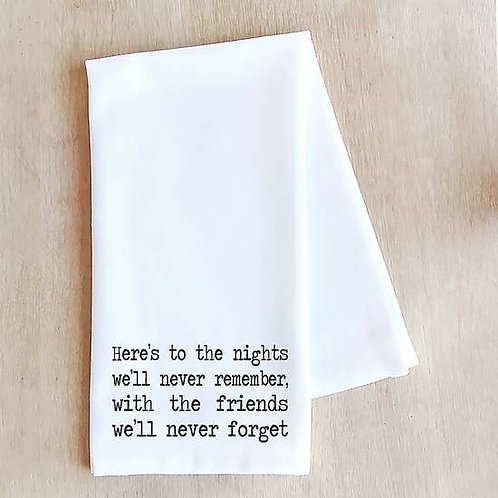 Tea Towel To The Nights